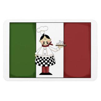 Italian Chef #7 Premium Magnet