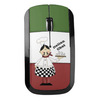Italian Chef #7 Wireless Mouse