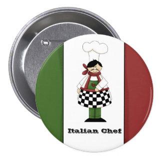 Italian Chef #8 Button