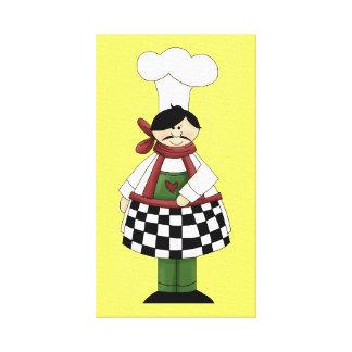 Italian Chef #8 Canvas Print