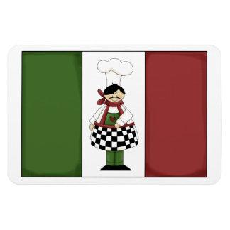 Italian Chef #8 Premium Magnet