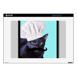 Italian Chef Cat with Mustache 17