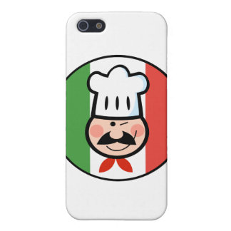 Italian Chef Case For iPhone SE/5/5s