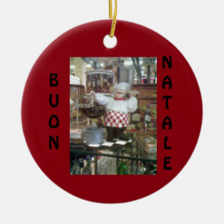 **ITALIAN CHEF** CHRISTMAS ORNAMENT