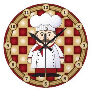 Italian Chef Wallclock