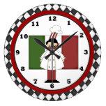 Italian Chef Clock 2