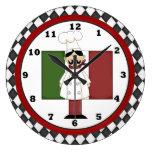 Italian Chef Clock 6