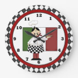 Italian Chef clock 8