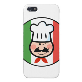 Italian Chef Cover For iPhone SE/5/5s