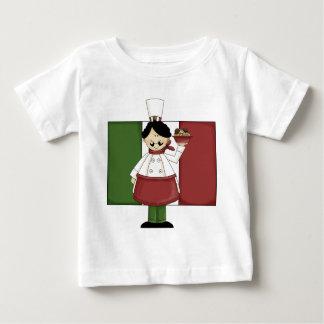 Italian Chef - Customizable Baby T-Shirt