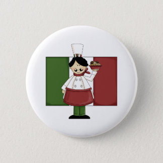 Italian Chef - Customizable Button