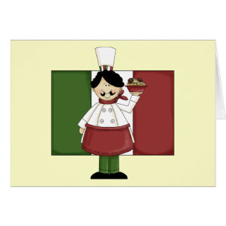 Italian Chef - Customizable Card