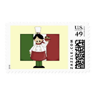 Italian Chef - Customizable Postage
