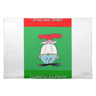 ITALIAN CHEF HUMPTY DUMPTY DINING PLACEMATS