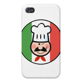 Italian Chef iPhone 4/4S Cover