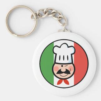 Italian Chef Keychain