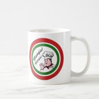 Italian Chef: Mangia Mangia Coffee Mug