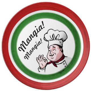 Italian Chef: Mangia Mangia Plate