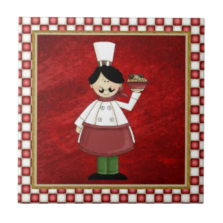 Italian chef tile
