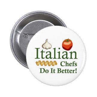 ITALIAN CHEFS BUTTONS