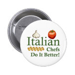ITALIAN CHEFS BUTTONS
