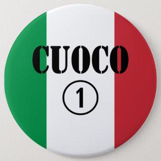 Italian Chefs : Cuoco Numero Uno Button