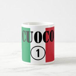 Italian Chefs : Cuoco Numero Uno Coffee Mug