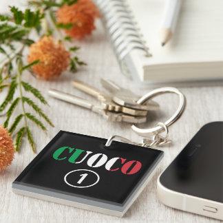 Italian Chefs : Cuoco Numero Uno Keychain