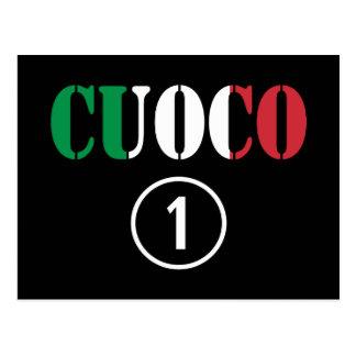 Italian Chefs : Cuoco Numero Uno Postcard