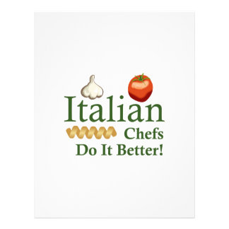 ITALIAN CHEFS LETTERHEAD