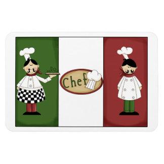 Italian Chefs Premium Magnet