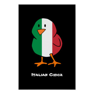 Italian Chick Print