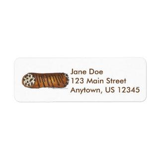 Italian Chocolate Chip Cannoli Address Labels