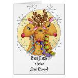 Italian Christmas Card - Reindeer - Buon Natale