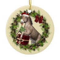 Italian Christmas Donkey Buon Natale Ornament