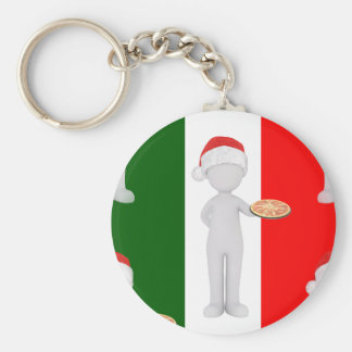 italian christmas keychain