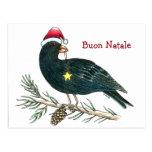 "Italian Christmas Postcard ""Buon Natale"""