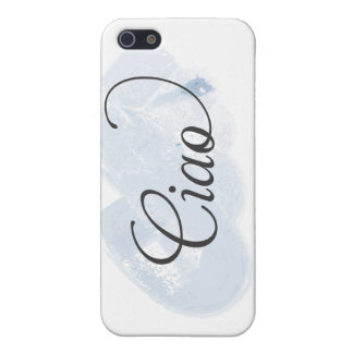 Italian - Ciao Case For iPhone SE/5/5s