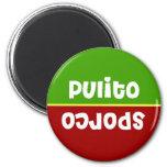 Italian Clean Dirty Dishwasher Magnet