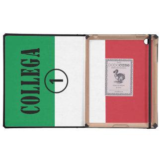 Italian Co-Workers : Collega Numero Uno iPad Folio Case