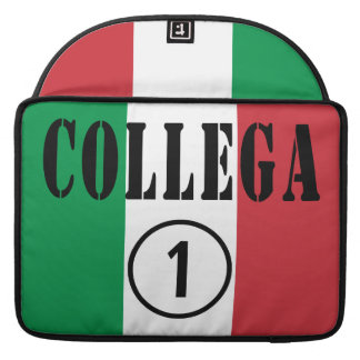 Italian Co-Workers : Collega Numero Uno Sleeves For MacBook Pro