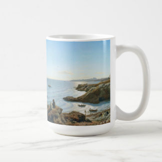 Italian Coast Fishing Boats Ocean Sea Mug