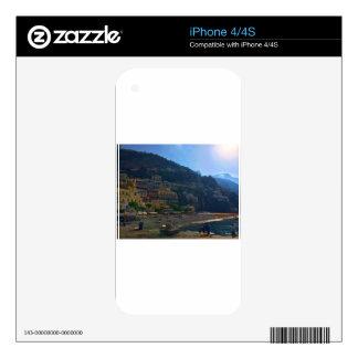 Italian Coast iPhone 4 Decals