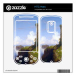 Italian Coast Scene with Ruined Tower -Thomas Cole Decals For HTC Hero