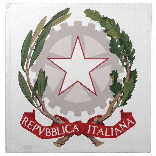 Italian Coat of Arms MoJo Napkin