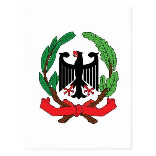 Italian Coat Of Arms Postcard