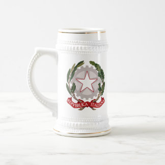 Italian Coat of Arms Stein Mug