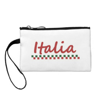 Italian Coin Purse, Italian Pouch, Italia Purse Coin Wallets