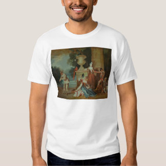 Italian Comedians in a Park, c.1725 T-shirt