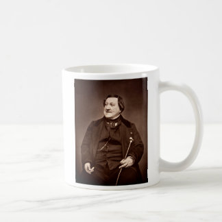Italian Composer Gioachino Antonio Rossini Coffee Mug